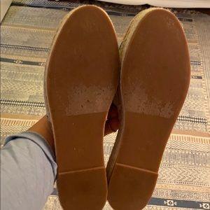 Caslon Shoes - Caslon embroidered platform mule espadrille